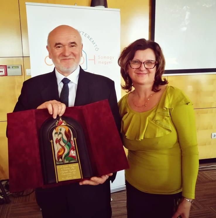 Dr.Hegedüs Lajos kitüntetése